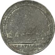 Medal - Admiral Nelson, Boulton's Trafalgar Medal – revers