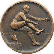 Médaille - Saut en hauteur – avers