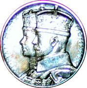 Medal - King George V and Queen Mary (Silver Jubilee) -  avers