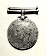 The Defence Medal 1939-1945, United Kingdom campaign medal – avers