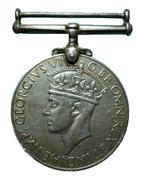 War Medal 1939-1945 – avers