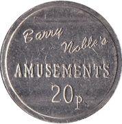 20 Pence - Barry Noble's Amusements – avers