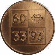 Medal - London Transport Diamond Jubilee – avers