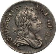 3 Pence - George I (Maundy Coinage) -  avers