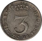 3 Pence - George I (Maundy Coinage) -  revers