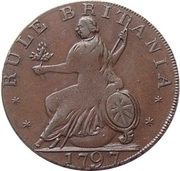½ Penny (Middlesex - For General Convenience) – revers