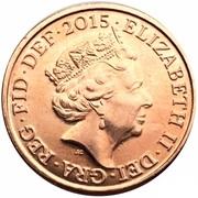 1 penny Elizabeth II (5e effigie) -  avers