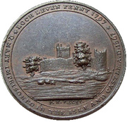 1 penny - Kempson's Loch Leven (Kinross) – avers