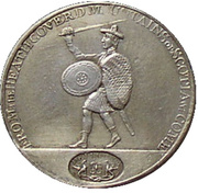 1 shilling - Wright's Dundee ( (Angusshire) – revers