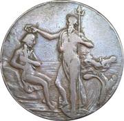 ½ Penny (Hampshire - Portsmouth / Thomas Sharp) – avers