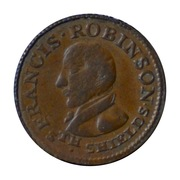 1 farthing (South Shields) – avers