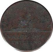 1 shilling (John Pinkerton) – revers