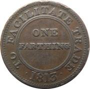 1 Farthing (Worcester - John Knapp Junior) – revers