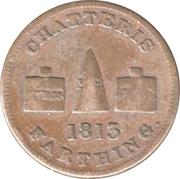 Farthing token (Chatteris) – avers