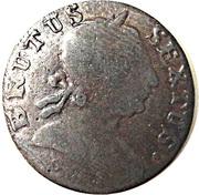 ½ Penny token George II (British Evasion) -  avers