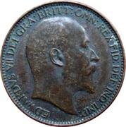 1 farthing Edouard VII – avers