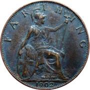 1 farthing Edouard VII – revers
