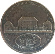 Webster's Dundee (County of Angus) Copper Conder Penny Token – revers