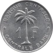 1 franc – revers