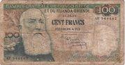 100 Francs Léopold II – avers