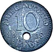 10 pfennig - Rudolstadt – revers