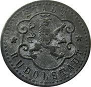 5 pfennig - Rudolstadt – avers