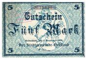 5 Mark (Rudolstadt) – avers