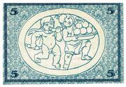 5 Mark (Rudolstadt) – revers