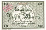10 Mark (Rudolstadt) -  avers
