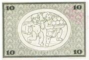 10 Mark (Rudolstadt) -  revers