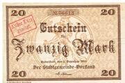 20 Mark (Rudolstadt) – avers