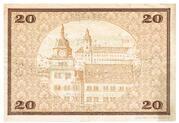 20 Mark (Rudolstadt) – revers