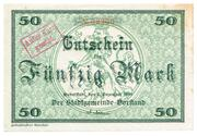 50 Mark (Rudolstadt) – avers