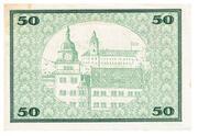 50 Mark (Rudolstadt) – revers