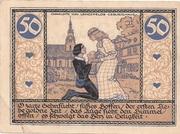 50 Pfennig (Rudolstadt) – revers