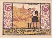 75 Pfennig (Rudolstadt) – revers