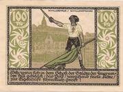 100 Pfennig (Rudolstadt) – revers