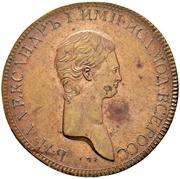 2 Kopecks - Aleksandr I (Pattern) -  avers
