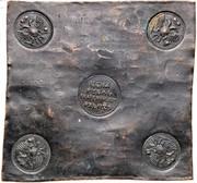 Ruble - Ekaterina I (Plate money) – avers