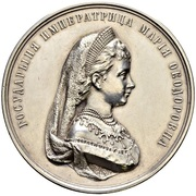 Medal - Maria Feodorovna (Women's Gymnasias) – avers
