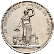 Medal - Maria Feodorovna (Women's Gymnasias) – revers