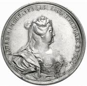 Medal - Anna (Glory of Empress Anna) – avers