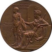 Medal - Nicholas II (Ministry of War) – revers