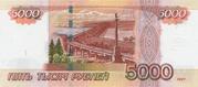 5 000 Rubles – revers