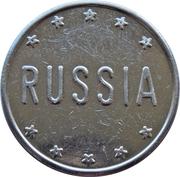 Game Token - Russia (Gambling & Stiers) – avers