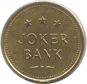 Game Token - Jocker Bank – avers