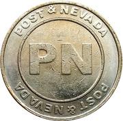 Post & Nevada token – avers