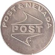 Game Token - Post & Nevada – avers
