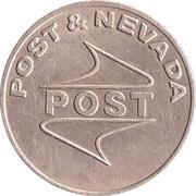 Game Token - Post & Nevada – revers