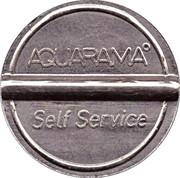 Jeton de lavage automobile - Aquarama – revers
